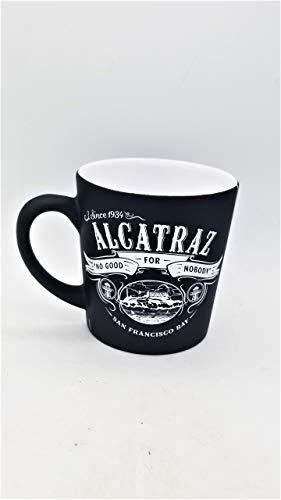 (216/18) cm San Francisco Alcatraz Kaffee Tasse Wild schwarz Spray 16Oz Verjüngung sfmugola mit exklusiven ca Bär Magnet
