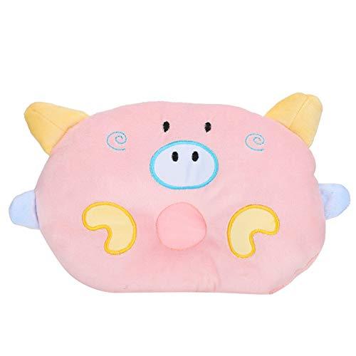 SONK Almohada para Perros, Almohada para el Cuello del Perro Almohadas para Dormir para Perros para Proteger la Columna Cervical para Mascotas(Pink)