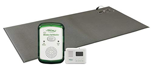 Caregiver Pager with Weight Sensing Floor Mat & Alarm - No Alarm in Resident's Room! by Smart Caregiver