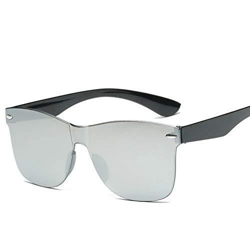 WDDYYYBF zonnebril transparant dames vintage retro bont zonder brilmontuur mode zonnebril voor dames merk Eyewear Uv400