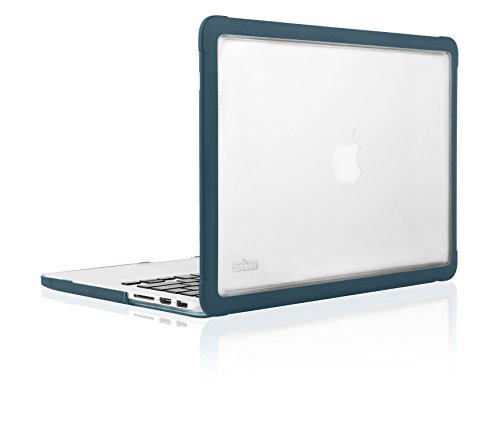 STM Dux Rugged Case for MacBook Pro Retina 15 - Inch (Prior to 2016) - Moroccan Blue (stm-122-094P-51)