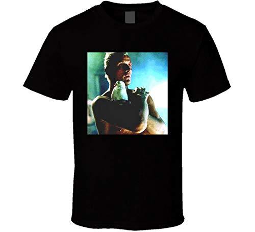 N/N Blade Runner Roy Batty Camiseta Rutger Hauer Sci-fi Classic Movie Camisas Negro Negro ( M
