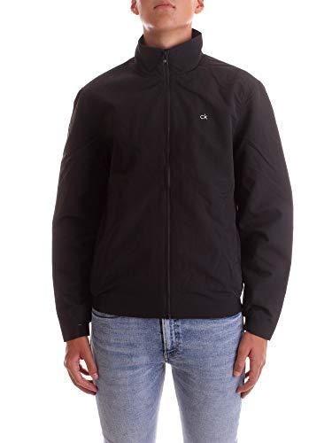 Calvin Klein K10K105607 - Chaquetas bomber para hombre, color negro, talla M
