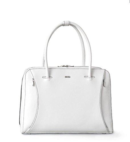 SOCHA Damen Businessbag Tasche So White Swan 14\'-15,6\' Bowatex