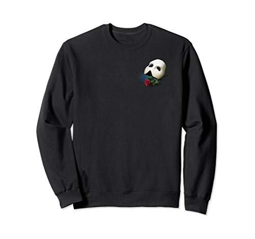 Offiziell 'Phantom of the Opera' - Maske & Rose Sweatshirt