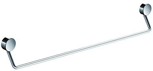 HEWI Badetuchhalter 600 mm (Handtuchhalter) verchromt, HxT 93 x 61 mm, Wandmontage - 815.30.110