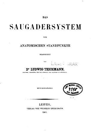 Das Saugadersystem Vom Anatomischen Standpunkte