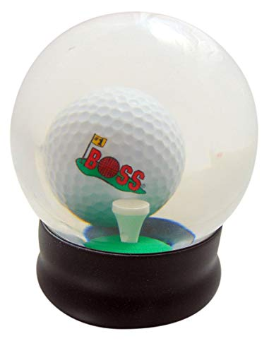 Westmon Works Boss Water Globe Golf Game for Golfer Manager Boxed