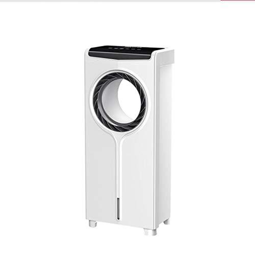 Muzyo Blattlos Klimageräte Ventilator Fernbedienung Einzelne Erkältung Befeuchtung Boden Ventilator Schlafzimmer 3 Geschwindigkeiten Tischventilatoren 68cm 80w