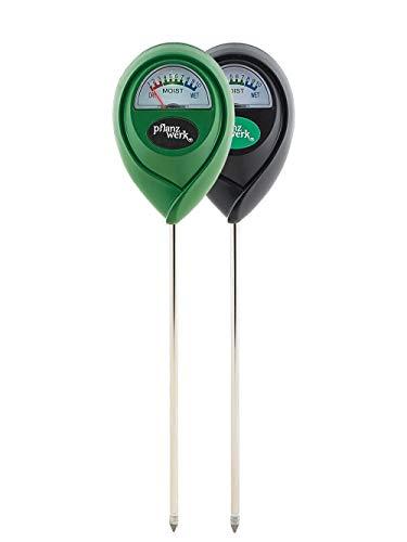 Pflanzwerk Pflanzkübel Boden-Tester Premium FEUCHTIGKEITSMESSER 2er Set *Keine Batterien* *Farbe wählbar* *Indoor & Outdoor Hydrometer* *Qualitätsware*