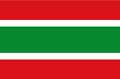 magFlags Bandera Large Rectangular de Proporciones 2 3, formada por Cinco Franjas horizontales | Bandera Paisaje | 1.35m² | 90x150cm