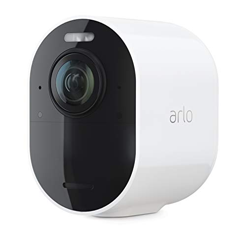 Arlo Ultra 2 Spotlight Camera | Add-on Camera | Wire-Free, 4K Video & HDR | Color Night Vision, 6-Month Battery Life | Requires a SmartHub or Base Station, Sold Separately | White | VMC5040-200NAS