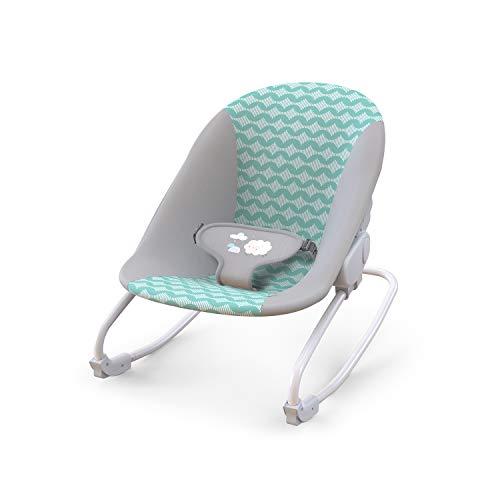 Ingenuity, Ity Hamaca Mecedora para bebé Rockity Rock, 3 posiciones de reclinación, 3 puntos de fijación - Goji