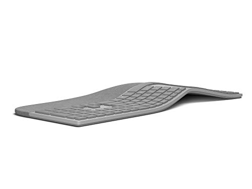 Microsoft Surface Ergonomic Keyboard (QWERTZ-Layout) & Surface Precision Maus grau
