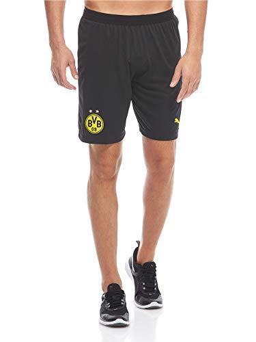 PUMA Herren Borussia Dortmund Home 2018/2019 Shorts, schwarz/gelb, M