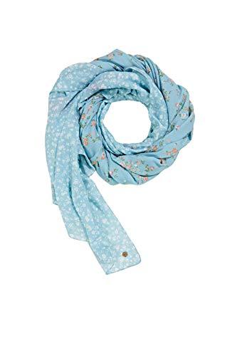 ESPRIT edc by Accessoires Damen 021CA1Q301 Mode-Schal, 440/LIGHT Blue, 1SIZE