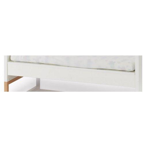 Herlag H1922-0001 Sofaboden Alex für Kinderbett, weiß