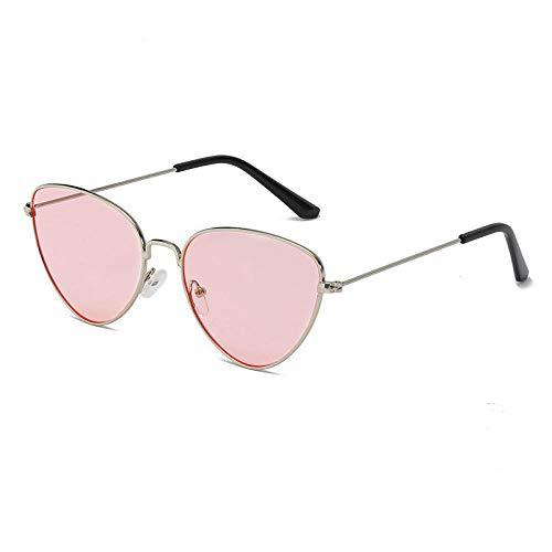 ZYIZEE Gafas de Sol Gafas de Sol con diseño de Mariposa Rosa para Mujer Gafas de Sol con Espejo de Oro Rosa y Moda Vintage para Mujer