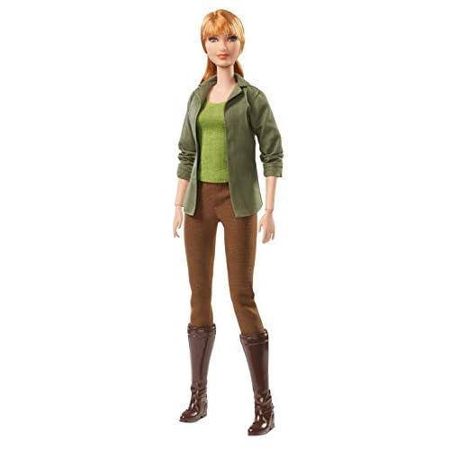 Barbie Collector - Claire Film Jurassic World II, Multicolore, FJH58