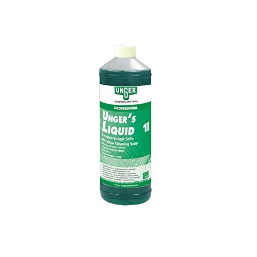 Unger's Liquid 1 Liter Fensterreinigungsmittel Glasreinigungsmittel Fensterputzmittel Glasputzmittel