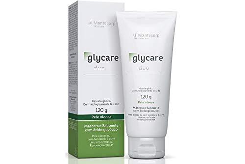 Duo Sabonete e Máscara Facial 120g, Glycare, Mantecorp Skincare