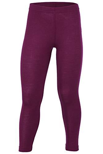 Engel, Legging, Lange Unterhose, Wolle Seide, Grösse 92-176, 5 Farben (116, Orchidee)