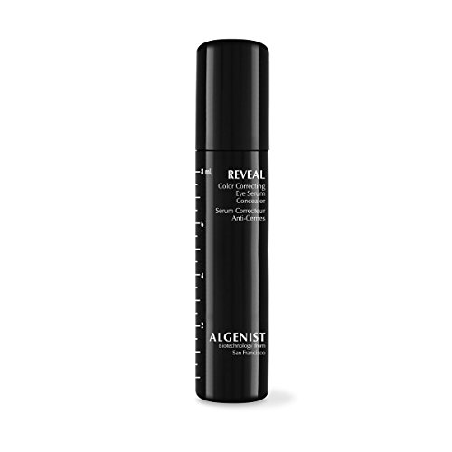 Algenist REVEAL Color Correcting Eye Serum Concealer, Medium - Long-Lasting, Buildable Concealer with Satin Finish - Non-Comedogenic & Hypoallergenic (8ml / 0.27oz)