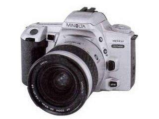 Minolta 404 SI Dynax 135 mm cámara