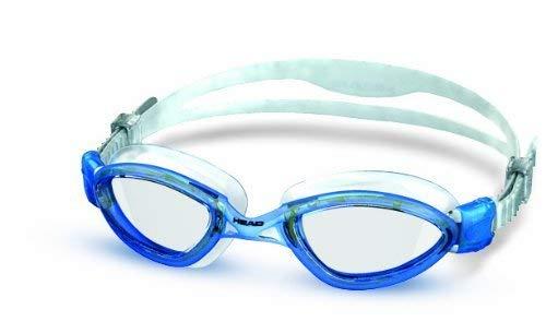 HEAD Erwachsene Schwimmbrille Tiger Mirrored Liquidskin, Clear-Blue, One Size, 451010CLBLBL