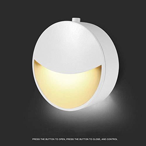 Veilleuse Smart LED Motion Sensor Veilleuse Alimenté par Batterie Veilleuse Sécurité pour Chambre Décoration De La Maison Toilette Lumière Warmwhite