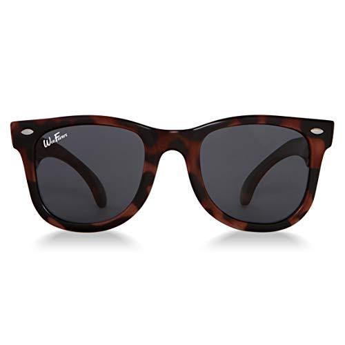 Original WeeFarers Children's Sunglasses (Ages 0-1y, Tortoise Shell)