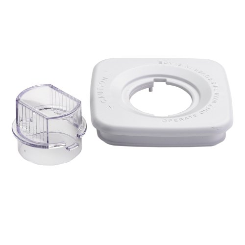 Oster Blender Square Lid With Cap, White