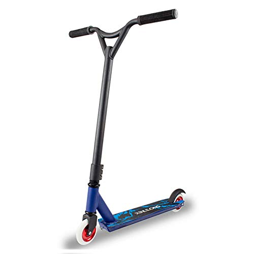 Pro Scooter Patinetes de acrobacias con rotación de 360 ° para principiantes Patinete de trucos de estilo libre para jinetes de hasta 220 libras para niños de 10 años en adelante, adolescentes y a