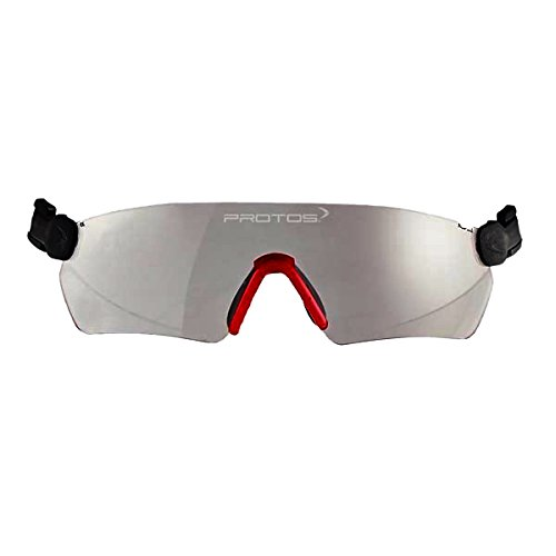 Protos 204090-1-0 Schutzbrille für Helm in transparent, M