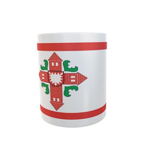 U24 Tasse Kaffeebecher Mug Cup Flagge Kreis Segeberg