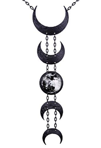 Restyle Lunar Moon Occult Anhänger Halskette