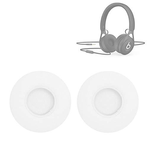 XUAILI koptelefoon vervanging oorkussens voor Beats EP Bedraad Headset oordopje Sponge oordopjes 2 PCS, Kleur: wit