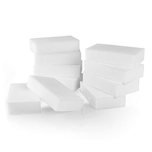 POLYCLEAN 10x Schmutzradierer – Premium Reinigungsschwamm für Flecken – Radierschwamm für saubere...