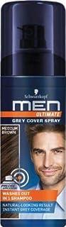 Schwarzkopf Men Ultimate Gray Cover Spray Medium Brown, 120 Ml