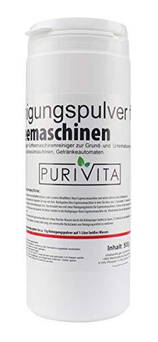 Purivita - Reinigungspulver für Kaffeemaschinen - 500 g Dose
