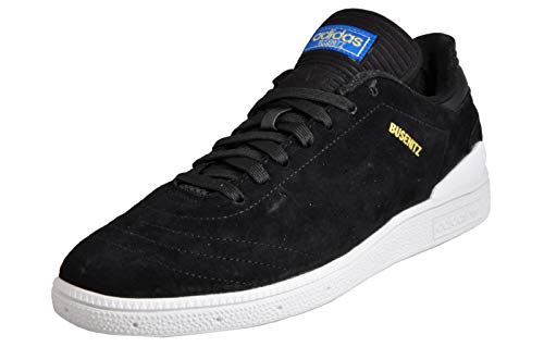adidas Herren Busenitz Rx Skateboardschuhe, schwarz (Negbas/Ftwbla/Azucie), 43 1/3