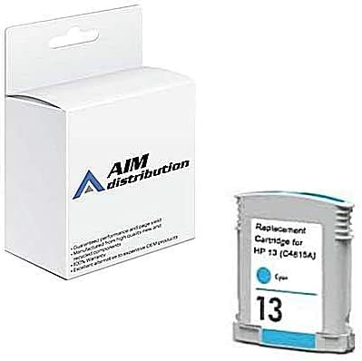 AIM Compatible Replacement for HP NO. 13 Cyan Inkjet (430ML-1200 Page Yield) (C4815A) - Generic