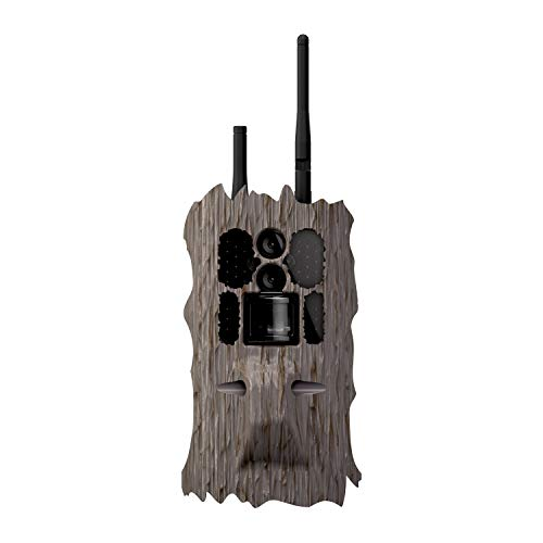 Wildgame Innovations Insite Cell Game Scouting Camera | 32 Megapixel Cellular Trail Camera with Realtime Viewing Option, Works Nationwide with All Networks, WGICM0689, Bark, One Size