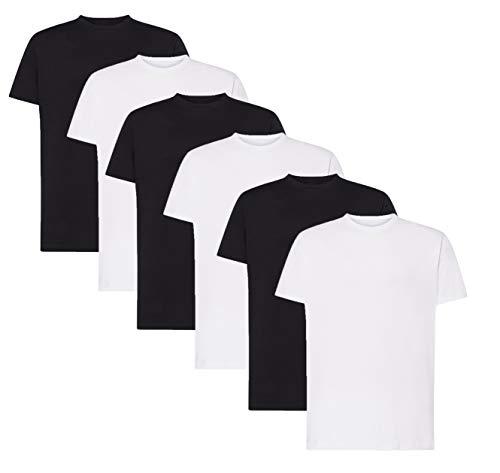 VM - Pack de Camisetas Básicas de Manga Corta para Hombre, Disponible...