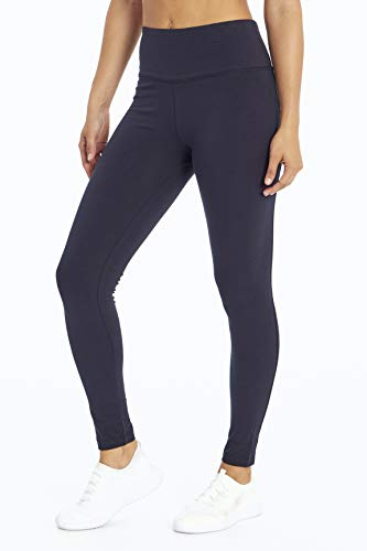 Bally Total Fitness Legging für Damen, Damen, knöchellange Leggings, The Legend Legging, Midnight Blue, Large
