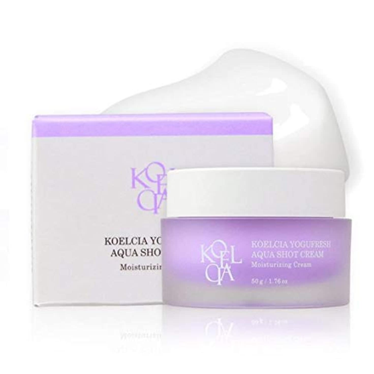 分離騒乱彫るKOELCIA YOGUFRESH AQUA SHOT CREAM 50g/Hot K-Beauty Best Moisture Cream/Korea Cosmetics [並行輸入品]