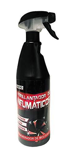 Unycox UNYCQ Abrillantador de Neumáticos Alto Brillo, Bote Negro, 750 ml