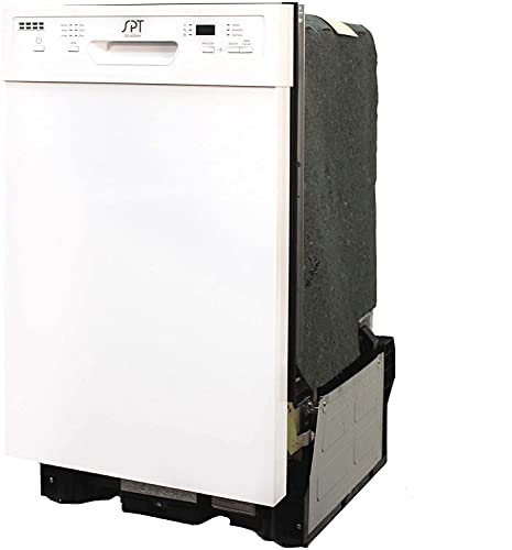 SPT SD-9254WA White Energy Star 18″ Built-in Dishwasher w/Heated Drying