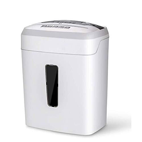 WBYHGY Oficina trituradora de Papel - Mini eléctrico de Escritorio pequeño triturado trituradora Comercial de Alta Potencia de residuos portátil