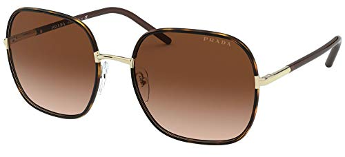 Prada Gafas de Sol PR 67XS Havana/Brown Shaded 58/19/145 mujer